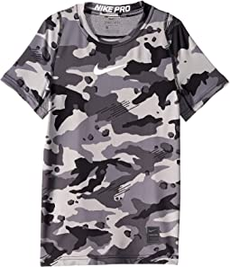 Pro Fitted Short Sleeve Printed Top (Little Kids/Big Kids)