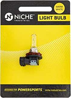 NICHE Headlight Bulb H9 2007-2017 For Suzuki GSXR 600 GSXR 750 GSXR 1000 Hayabusa GSX1300R KTM 390 RC