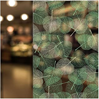 BDF 4GLV Decorative Window Film Green Leaves (24in X 7ft)