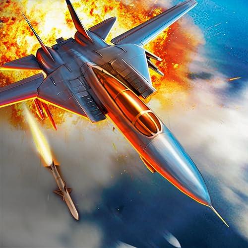 Wings of War: Luftkampf des Kampfjets 3D