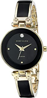 Women's Diamond-Accented Bangle Watch