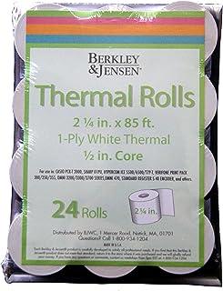 Product of Berkley Jensen Thermal Paper Rolls, 24 pk. - All Paper & Printable Media [Bulk Savings]