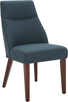"""Amazon Brand – Rivet Phinney Contemporary Upholstered Dining Chair, 19.7""""W, Juniper"""