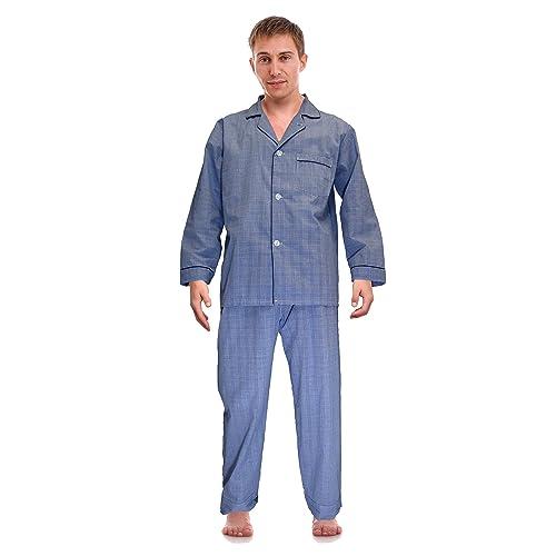 RK Classical Sleepwear Men s Broadcloth Woven Pajama Set a3563159b