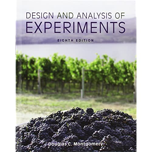 Design And Analysis Of Experiments Douglas C. Montgomery Pdf