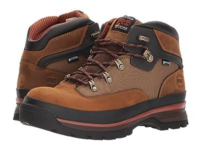 Timberland PRO Euro Hiker Soft Toe Waterproof (Taupe) Men