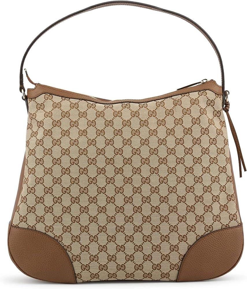 Gucci, borsa a SPALLA da donna, in tessuto in pelle 449244_ky9lg