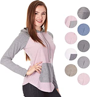 accabf268a7d0 FREE Shipping on eligible orders. X America Lightweight Junior and Plus  Size Hoodies for Women