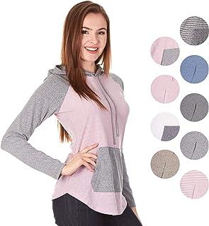 fde7b289fe5 Amazon.com  Plus Size - Fashion Hoodies   Sweatshirts   Clothing ...