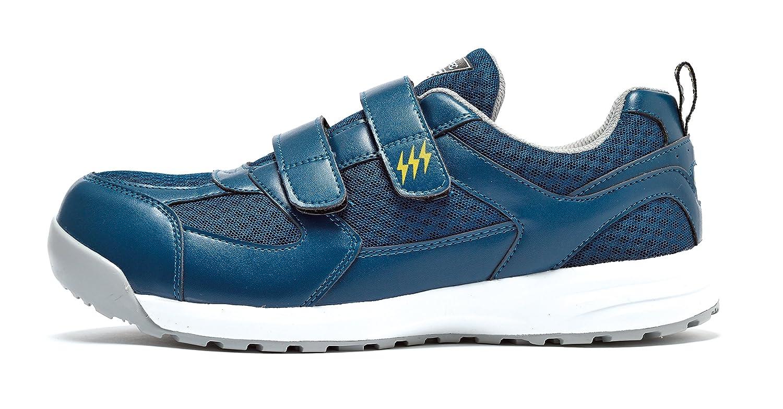 [ユニフォームU-style] (ジーベック) XEBEC マジックテープ仕様 静電タイプ セフティシューズ 安全靴 (85112-xe) 【22.0~30.0cmサイズ展開?レディス対応】
