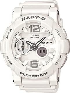Baby-G G-lide Tide Graph Surfer White Watch BGA180-7B1