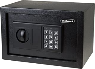 Digital Safe-Electronic Steel Safe with Keypad, 2 Manual Override Keys-Protect Money,..