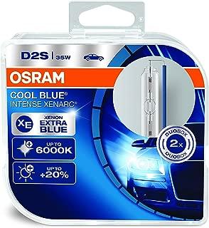 OSRAM Xenarc Cool Blue Intense D2S Xenon Car Headlight Bulbs (Twin) 66240CBI-HCB