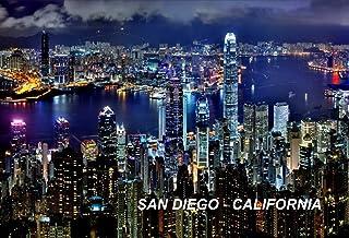 مغناطيس ثلاجة كاليفورنيا الولايات المتحدة الأمريكية (المدينة: سان دييغو #G7)
