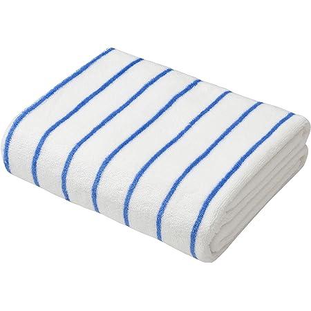 シービージャパン ヘアドライタオル ホワイト×ブルー 吸水 速乾 マイクロファイバー カラリクオ carari