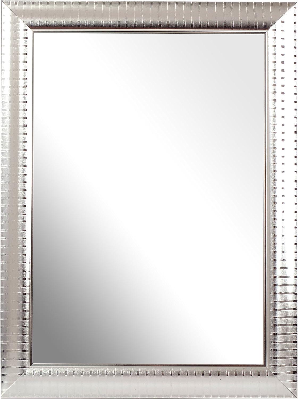 Inov8 British Made 8x6-inch Traditional Mirror, Pack of 4, Cream 306