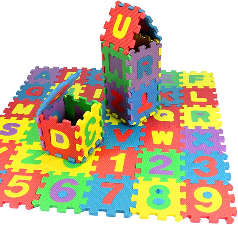 Decsix 36Pcs Baby Child Number Alphabet Puzzle Educat Bargain Lowest price challenge sale Maths Foam