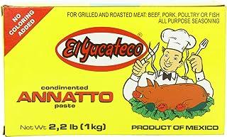 comprar comparacion MexGrocer El Yucateco Achiote 1 Kg