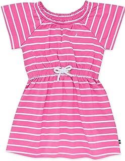 Nautica Big Girls' Short Sleeve Fashion Dress