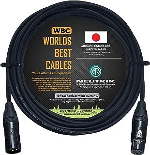 Cable de audio digital AES/EBU de 18 pies, hecho a medida por WORLDS Best CABLES, utilizando cables Mogami 3080 y conector...