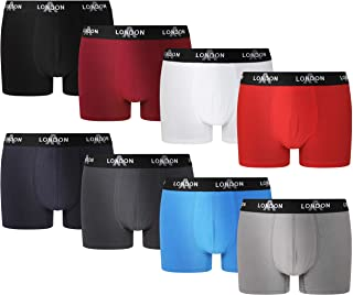 FM London Fitted Boxer (Pack de 8) para Hombre