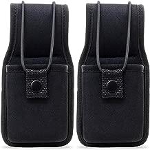 abcGoodefg Universal Nylon Radio Case Holder Holster Pouch Bag for Two Way Radios Walkie Talkies 3.8