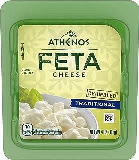 Athenos Crumbled Traditional Feta Cheese (4 oz Tub)