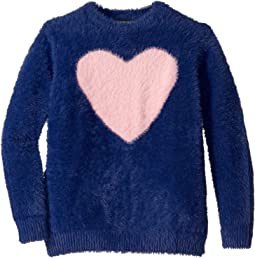 Navy/Pink Heart
