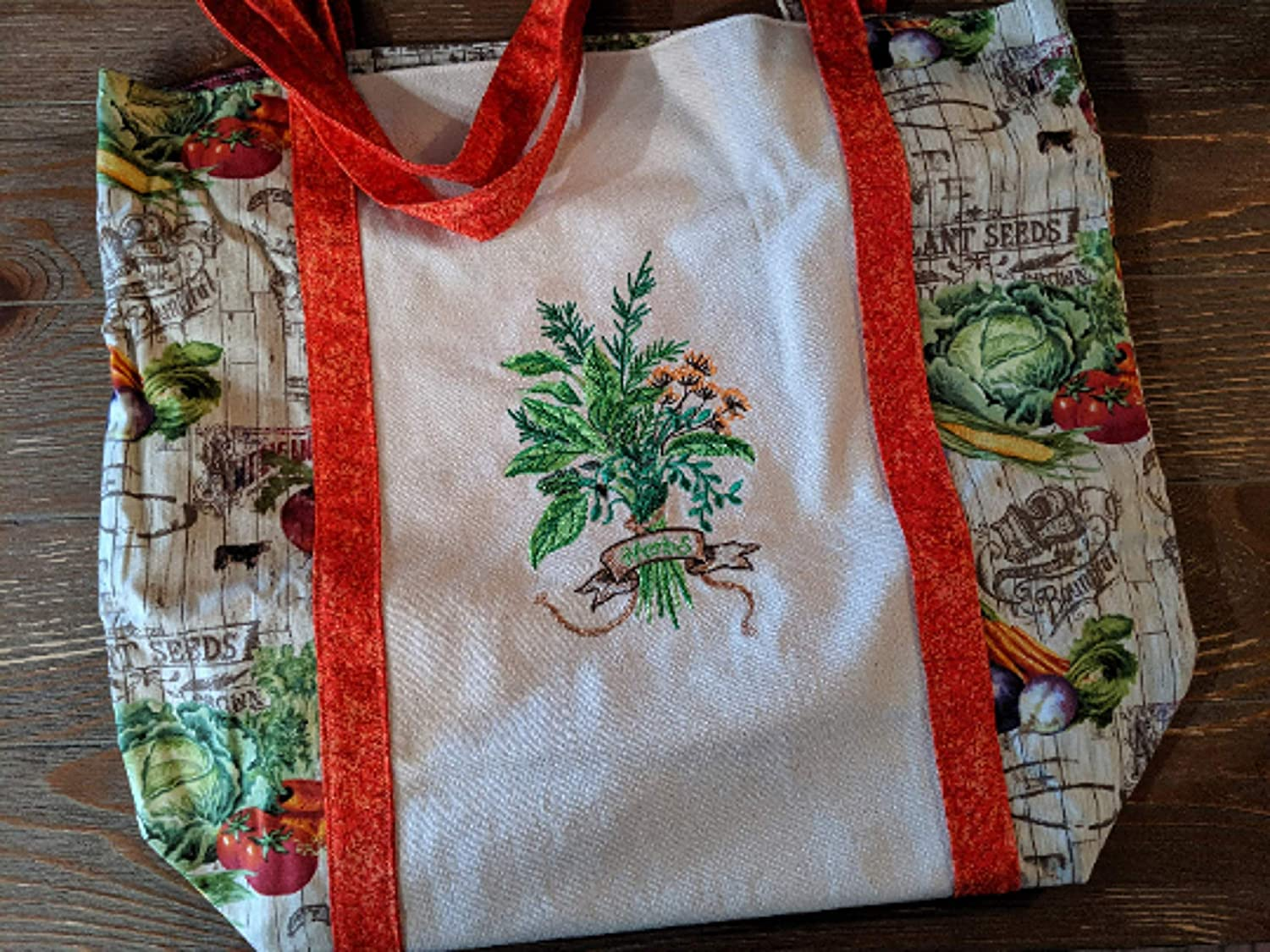 Heavy-duty Washable Reusable Cheap bargain Sturdy Embroidered Tote discount Bag