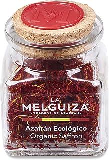 Azafrán Auténtico Español en Hebras Natural Envase Cristal Regalo de Cocina de Especias y Condimentos Gourmet (2 Gr)