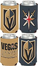 WinCraft NHL Vegas Golden Knights 2 Pack 12 oz. 2-Sided Can Coolers