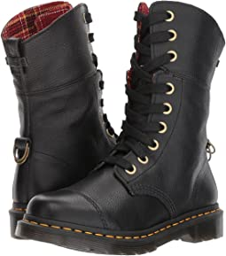 Black Aunt Sally/DMS Tartan Cherry Red Wool