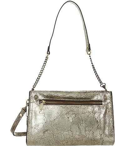 Patricia Nash Turati Shoulder Bag (Chocolate Metallic) Handbags