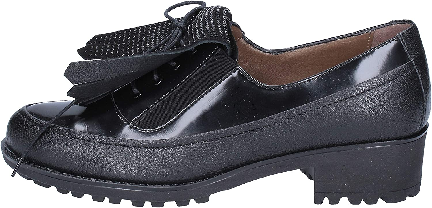 MELLUSO Oxfords-shoes Womens Leather Black