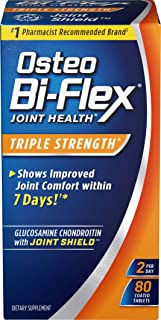 Glucosamine Chondroitin, Triple Strength by Osteo Bi-Flex w/ Vitamin C, Joint Health Supplements with Immune Support*, Glu...