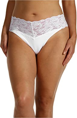 Extended Size Never Say Never Lovely Thong