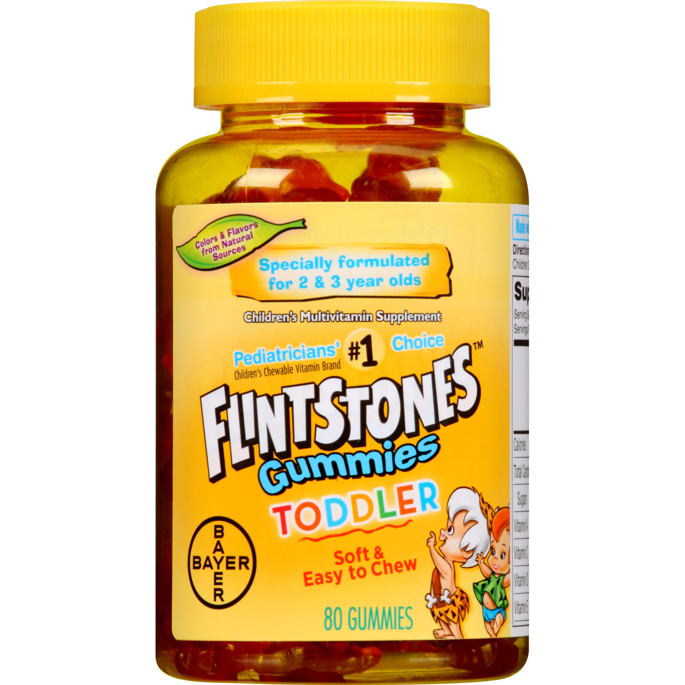 Flintstones Toddler Multivitamin Supplement Vitamins