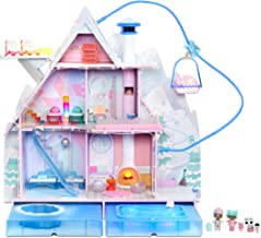 L.O.L. Surprise! Winter Disco Chalet Doll House with 95+...