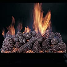 Rasmussen Pine Cones Gas Logs (PC18), Logs Only, 18-Inch