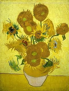Oil Paintings Canvas Vincent Van Gogh Art Prints (Sunflowers, 1888) Art Work for Home Decorations - 31
