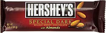 24-Pack HERSHEY'S Special Dark Chocolate Candy Bars with Almonds