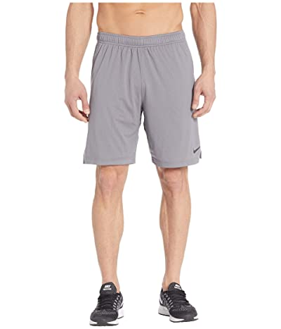 Nike Monster Mesh Shorts 4.0 (Gunsmoke/Black) Men