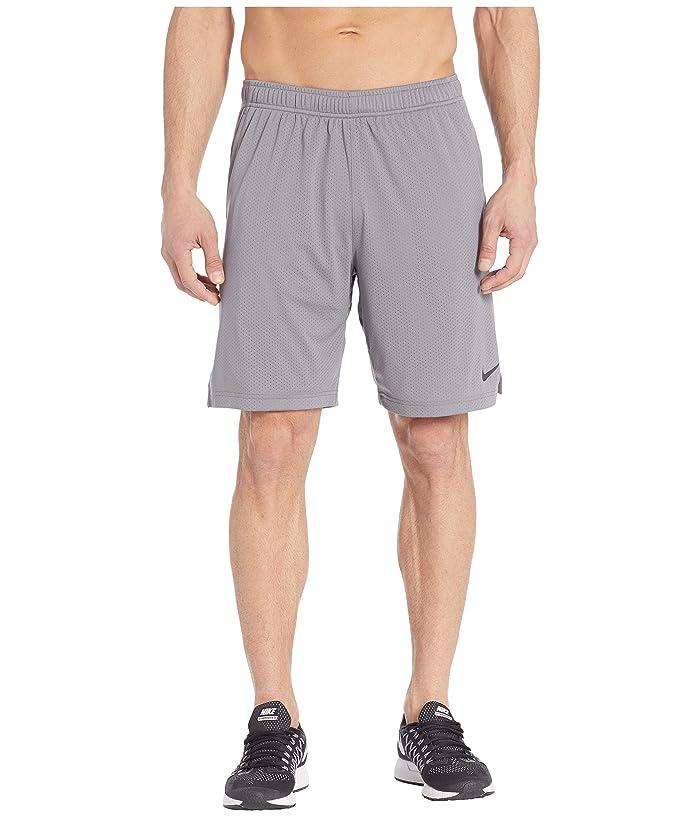 Nike Monster Mesh Shorts 4.0 (Gunsmoke/Black) Men