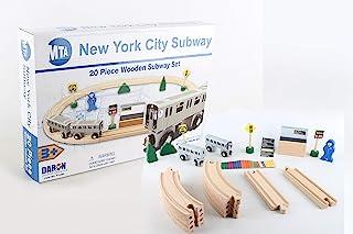Daron Nyc MTA 20Piece Wooden Subway Set