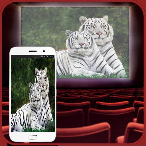 Video HD Projector Simulator - Mobile Projector