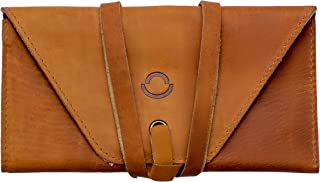 Leather Organizer Watch Travel Roll Pouch - Handcrafted Brown Color Portable Bag to hold your Precious Watches - Perfect Gift