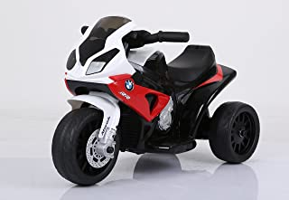 DTI DIRECT BMW Licensed Ride On S1000 RR Motorcycle - 6V Battery Powered 3 Wheel Ride On Trike Toy for Kids 18 to 36 Months