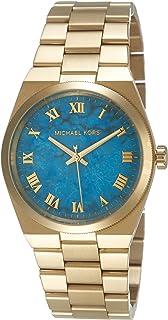 Michael Kors Womens Quartz Watch, Analog Display and Stainless Steel Strap MK5894