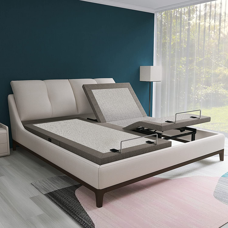 Purchase ZUAGCO Adjustable Bed Frame Split Ba King Popular overseas Ergonomic Electric