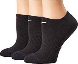 Nike - Performance Cushioned Mesh No Show Training Socks 3-Pair Pack